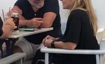 Πέγκυ Ζήνα – Γιώργος Λύρας: Οικογενειακές διακοπές στην Πελοπόννησο