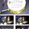 Ο Πάνος Κιάμος έκοψε την πρωτoχρονιάτικη πίτα του «Club 22»