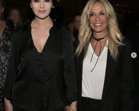 Η Άννα Βίσση συνάντησε τη Monica Bellucci